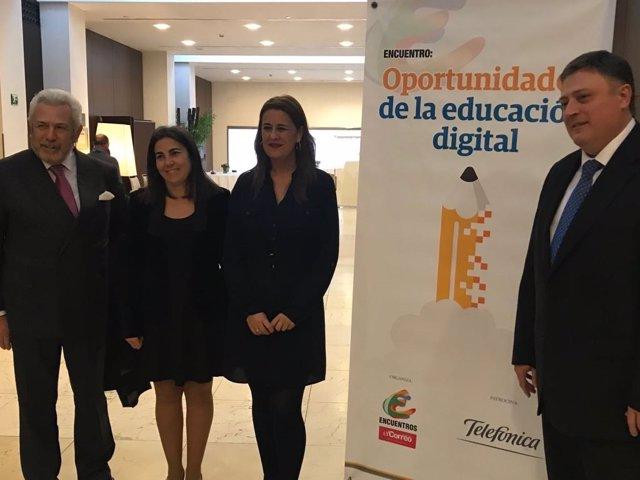 Sonia Gaya, en las jornadas 'Oportunidades de la Educación Digital'