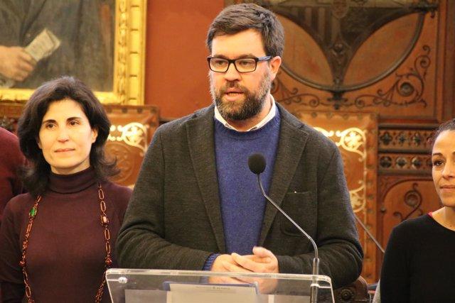 El alcalde de Palma, Antoni Noguera, en una imagen de archivo