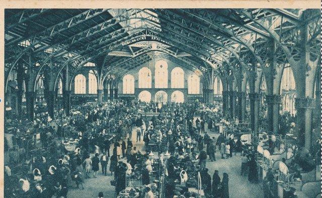 Inicio del Mercado Central de Valencia