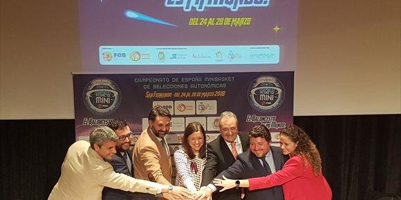 5. La Junta destaca el Campeonato de España de Minibasket por su papel de fomento del deporte base y formación en valores
