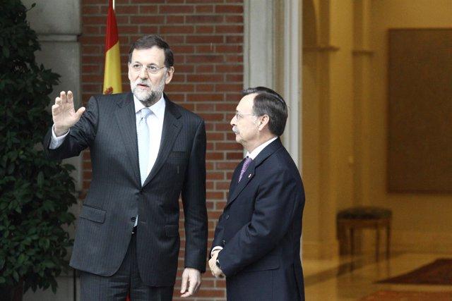 Rajoy recibe al presidente de Ceuta en La Moncloa