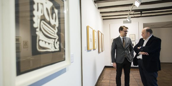 4. La Casa de los Tiros de Granada exhibe obra gráfica inédita de Manuel Ángeles Ortiz proveniente de colecciones privadas