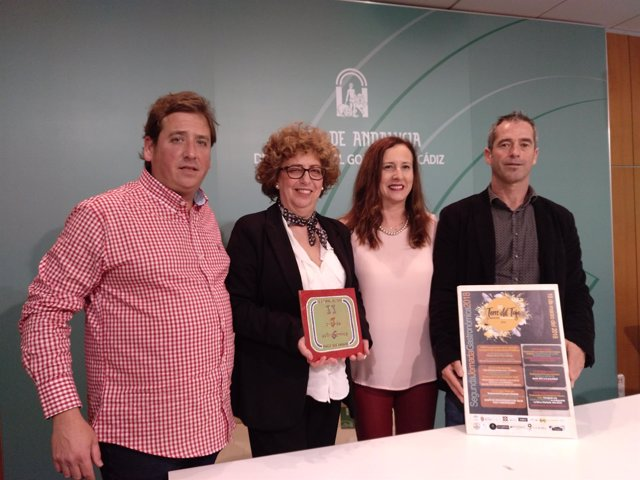 Presentación de Jornada Gastronómica de IES Torre del Tajo de Barbate