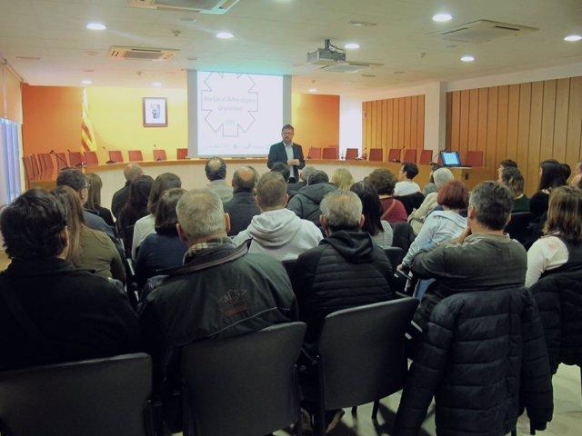 Presentación del PLA contra el estigma en salud mental en Granollers