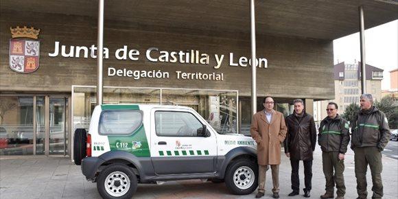 1. La Junta entrega un primer lote con 32 vehículos todoterreno para modernizar la guardería forestal de Soria
