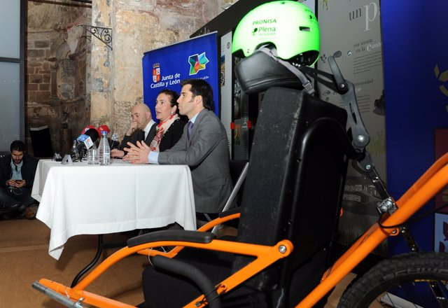 Presentación del programa del accesibilidad 'Cumbres para todos' 14-3-2018