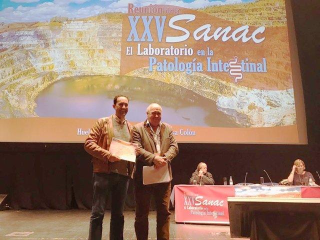 Premian un estudio del hospital Juan Ramón Jiménez.