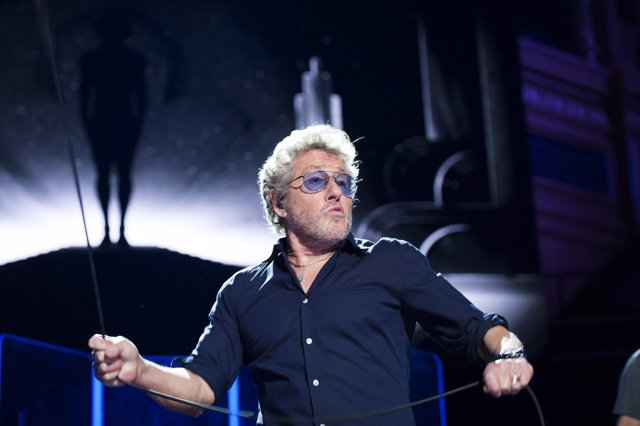 Roger Daltrey of The Who performs live on stage for the Teenage Cancer Trust ann
