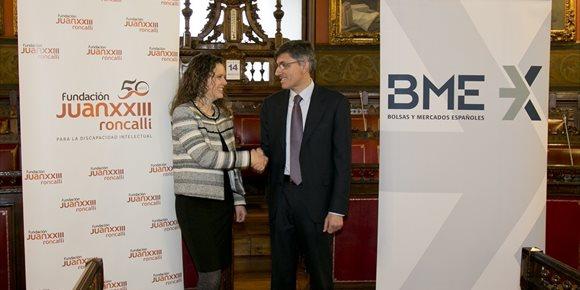 7. BME se une a Fundación Juan XXIII Roncalli para promover la inclusión sociolaboral de trabajadores con discapacidad