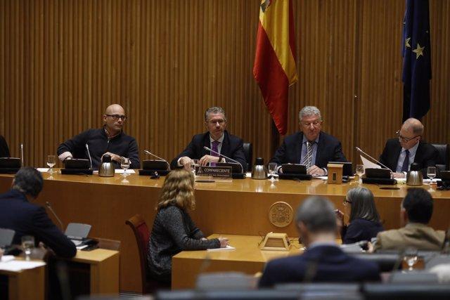 Granados comparece en la comisión sobre la presunta financiación ilegal del PP