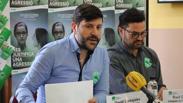 David Carbajales y Raúl Ceresuela (Satse)