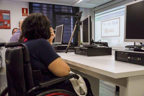 Formación a personas con discapacidad