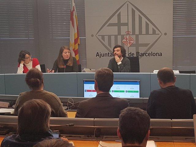 Comisión de Urbanismo de Barcelona de marzo