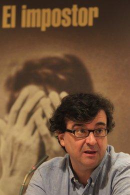 Javier Cercas en la presentación de 'El Impostor' - Foto de Archivo