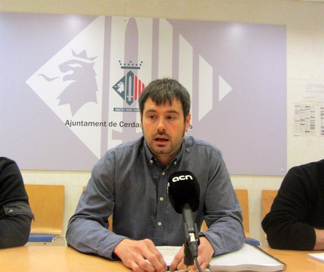El alcalde de Cerdanyola Carles Escolà en una imagen de archivo