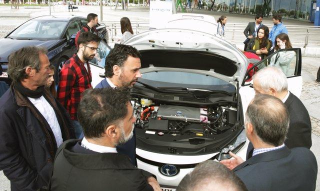 El Toyota Mirai en el Congreso Europeo de la Energía del Hidrógeno