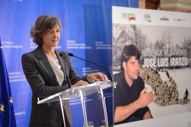 García Tejerina, en el homenaje a José Luis Iranzo hoy en Madrid