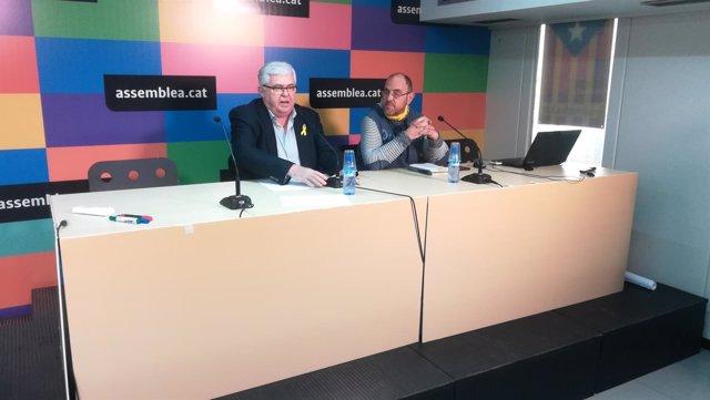 Agustí Alcoberro, Francesc Cara (ANC) en una imagen de archivo