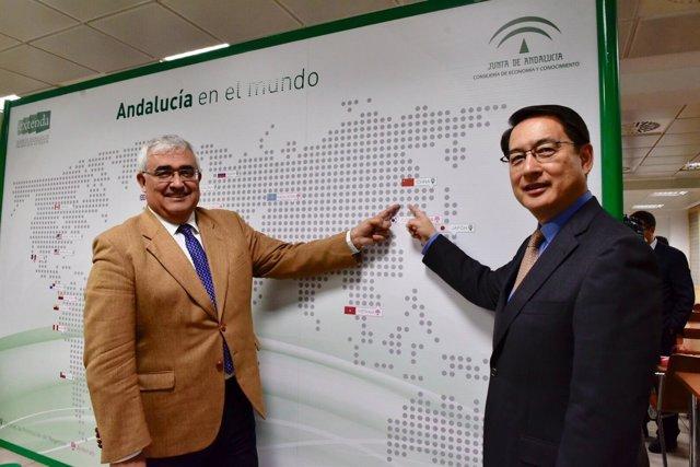 Foto Y Nota De Prensa: Las Exportaciones Andaluzas A China Se Multiplican Por Ci