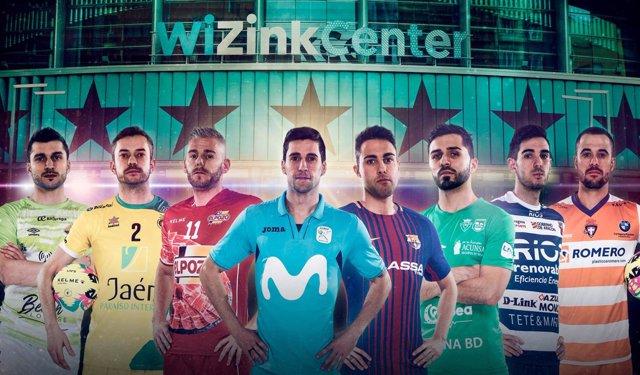 Cartel promocional de la Copa de España 2018