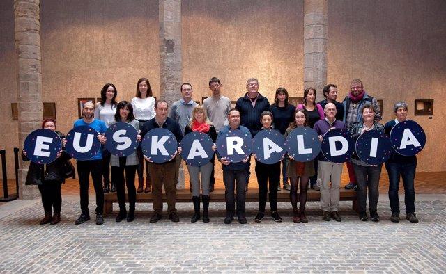 Presentación de 'Euskaraldia, 11 días en euskera'