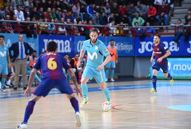 Movistar Inter y Barça Lassa buscarán el billete para la final en el Palau