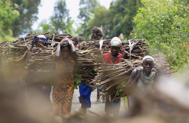 Mujeres congoleñas