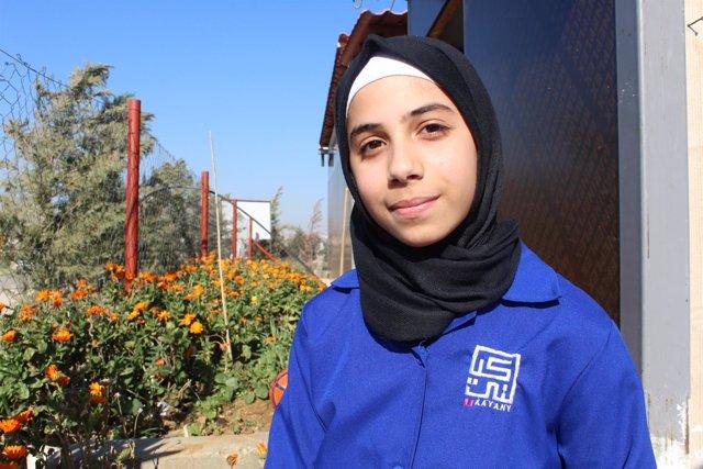 Solaf, refugiada siria en Líbano