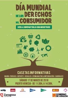 Cartel del Día de los Derechos del Consumidor