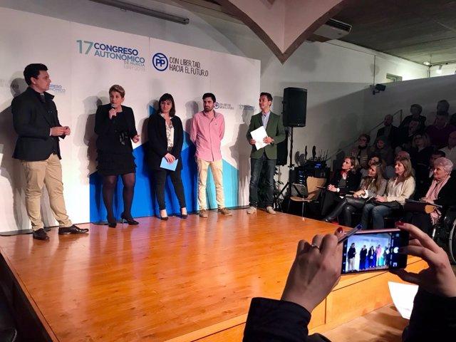 Imagen de Arroyo en el acto de participación del PP