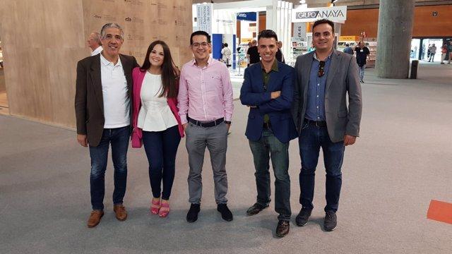 Director de Lantia junto a Alberto Cerezuela, fundador de Editorial Círculo Rojo