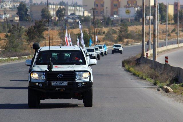 Convoy del CICR y la ONU para Ghuta Oriental
