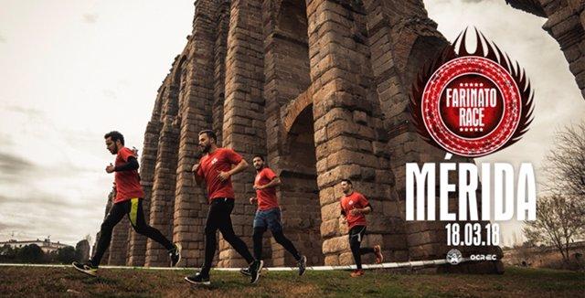 Cartel de la Farinato Race de Mérida