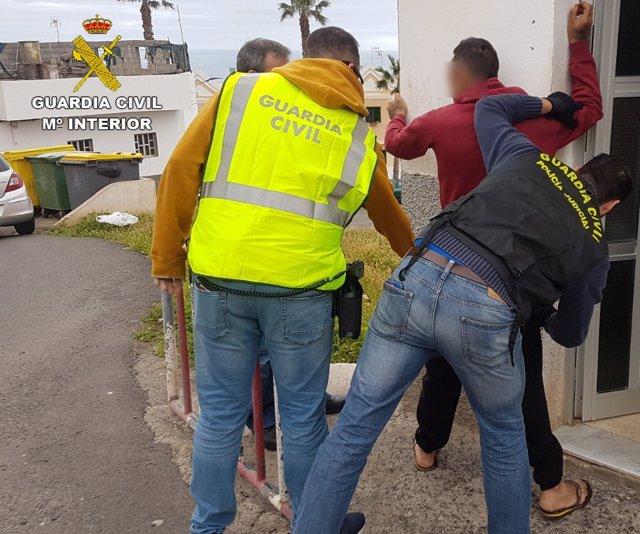 Detención de un atracador