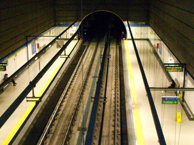 Andenes en Metrosur