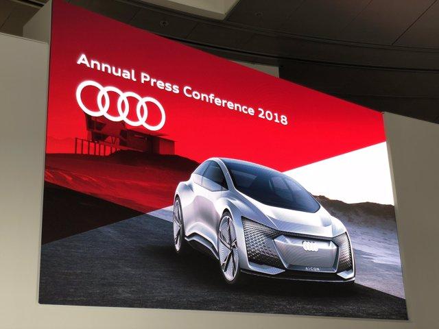 Resultados anuales de Audi