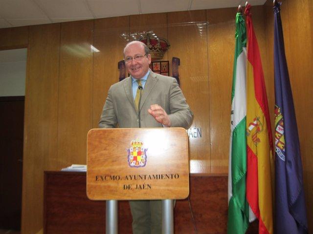 El alcalde de Jaén, Javier Márquez