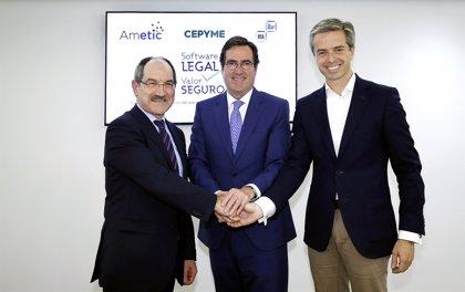 Cepyme, Ametic y BSA se unen para promover el uso legal de software en empresas españolas