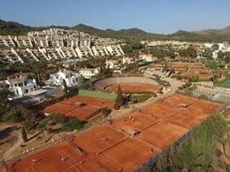 Centro de Tenis La Manga Club.
