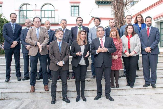 Susana Díaz en la jornada 'La sostenibilidad en la empresa y la competitividad'