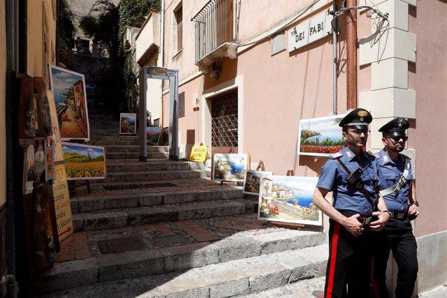 Foto de archivo de la Policía italiana.