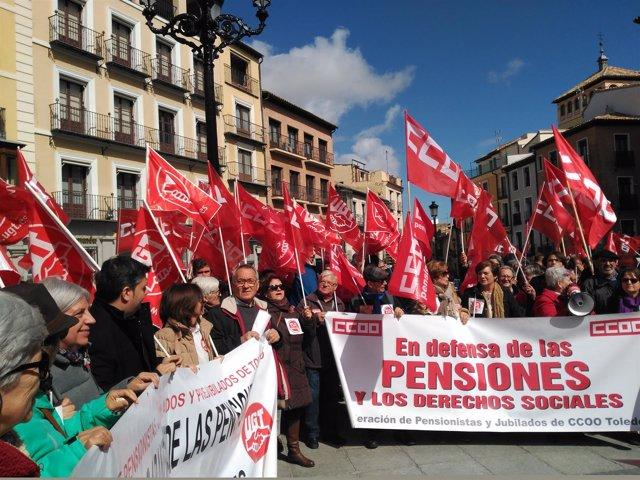 Pensionistas en Toledo