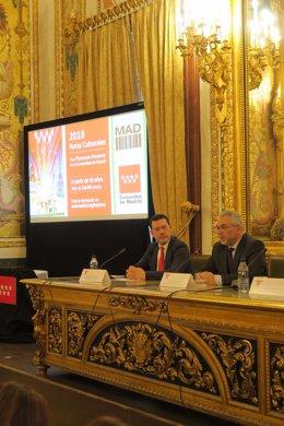 Presentación de las Rutas Culturales de la Comunidad de Madrid