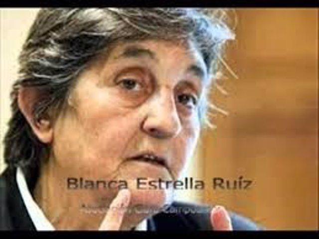 Blanca Estrella, presidenta de la Asociación Clara Campoamor
