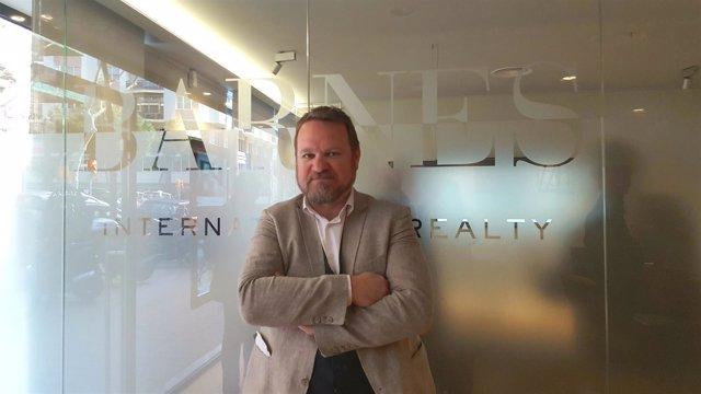 El socio fundador de Barnes Spain, Emmanuel Virgoulay