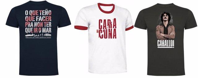 Camisetas de Fariña