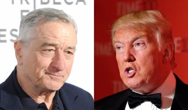 De Niro y Trump
