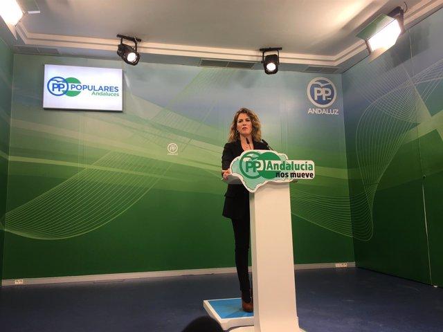 La parlamentaria del PP-A Ana Mestre