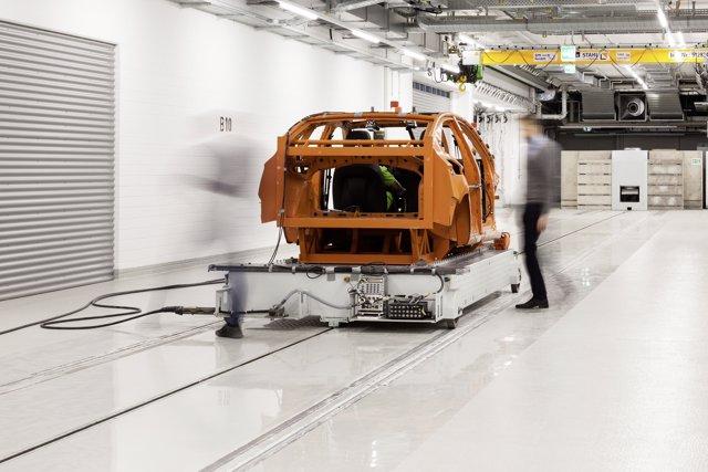 Nuevo centro de pruebas de Volkswagen en Wolfsburg (Alemania)