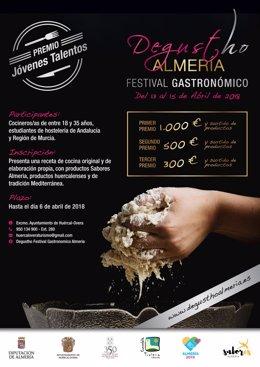El Festival 'Degustho Almería 2018' incluye un concurso de jóvenes talentos.